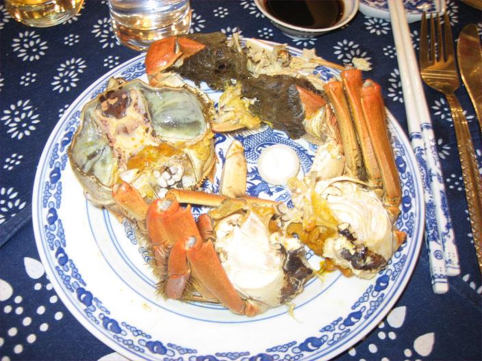 Crabe dépioté